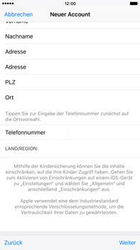 Apple iPhone 6 Plus - Apps - Konto anlegen und einrichten - 34 / 38