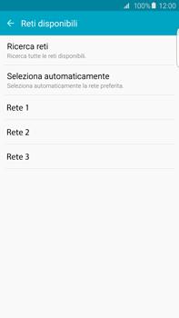 Samsung Galaxy S6 edge+ (G928F) - Rete - Selezione manuale della rete - Fase 8