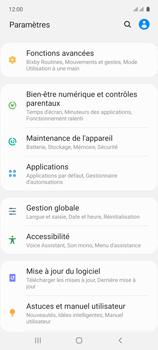 Samsung Galaxy A71 - Aller plus loin - Mettre à jour le logiciel interne de votre mobile - Étape 5