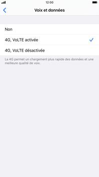 Apple iPhone 7 Plus - iOS 13 - Réseau - Comment activer une connexion au réseau 4G - Étape 7