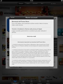 Apple iPad mini - Applicazioni - Configurazione del negozio applicazioni - Fase 9