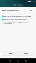 Huawei P8 Lite - E-Mail - Konto einrichten (yahoo) - Schritt 8