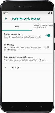 Xiaomi Redmi S2 - Internet - Configuration manuelle - Étape 6