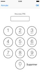 Apple iPhone 5 - Sécuriser votre mobile - Personnaliser le code PIN de votre carte SIM - Étape 9