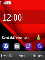 Nokia Asha 300 - Apps - Konto anlegen und einrichten - Schritt 1