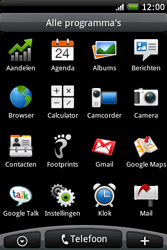 HTC A6262 Hero - internet - hoe te internetten - stap 2