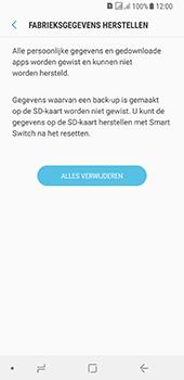 Samsung galaxy-a8-2018-sm-a530f-android-oreo - Resetten - Fabrieksinstellingen terugzetten - Stap 8