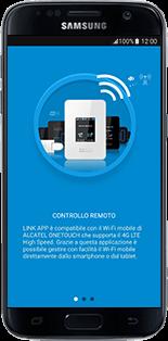 Alcatel MiFi Y900 - Operazioni iniziali - come connettere il modem allo smartphone o al tablet - Fase 4