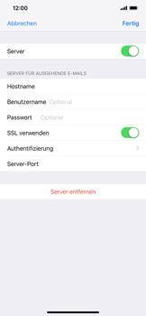 Apple iPhone XS Max - E-Mail - Manuelle Konfiguration - Schritt 18