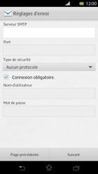 Sony Xperia T - E-mail - Configuration manuelle - Étape 11