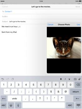 Apple iPad 2 iOS 9 - E-mail - Sending emails - Step 11