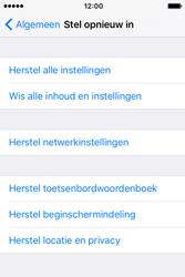 Apple iPhone 4S iOS 9 - Toestel reset - terugzetten naar fabrieksinstellingen - Stap 5