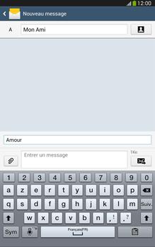 Samsung Galaxy Tab 3 8 4G - Contact, Appels, SMS/MMS - Envoyer un MMS - Étape 12