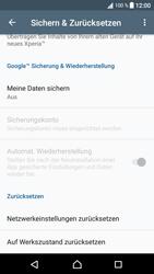 Sony Xperia XA1 - Fehlerbehebung - Handy zurücksetzen - 7 / 11