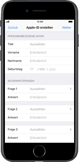 Apple iPhone 6 Plus - Apps - Konto anlegen und einrichten - 10 / 26