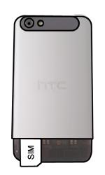 HTC One V - SIM-Karte - Einlegen - 3 / 6