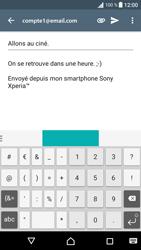 Sony Xperia E5 - E-mail - envoyer un e-mail - Étape 9