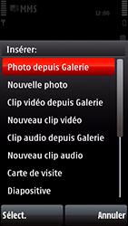 Nokia 5800 Xpress Music - MMS - envoi d'images - Étape 13