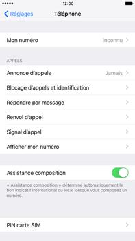 Apple iPhone 7 Plus - Sécuriser votre mobile - Personnaliser le code PIN de votre carte SIM - Étape 4