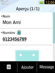 LG T385 - Contact, Appels, SMS/MMS - Ajouter un contact - Étape 7