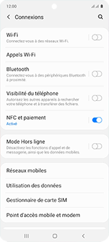 Samsung Galaxy A51 - Réseau - Comment activer une connexion au réseau 4G - Étape 5