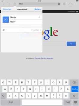 Apple iPad Air - Internet und Datenroaming - Verwenden des Internets - Schritt 7