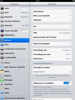 Apple iPad Retina - Logiciels - Installation de mises à jour - Étape 6