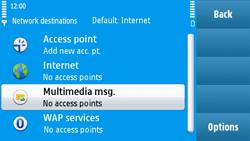Nokia N97 - MMS - Manual configuration - Step 6