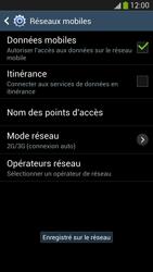 Samsung Galaxy S 4 LTE - Réseau - Sélection manuelle du réseau - Étape 12