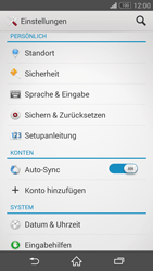 Sony Xperia Z3 Compact - Fehlerbehebung - Handy zurücksetzen - 6 / 11