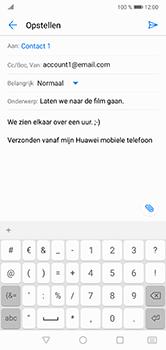 Huawei P20 Lite - E-mail - hoe te versturen - Stap 9