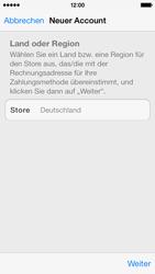 Apple iPhone 5c - Apps - Einrichten des App Stores - Schritt 10
