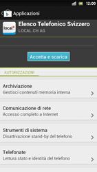 Sony Xperia S - Applicazioni - Installazione delle applicazioni - Fase 8