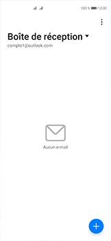 Huawei P40 - E-mails - Ajouter ou modifier votre compte Outlook - Étape 3