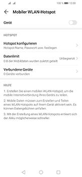 Huawei P30 Lite - WiFi - So aktivieren Sie einen WLAN-Hotspot - Schritt 6