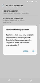 Samsung Galaxy S8 - netwerk en bereik - gebruik in binnen- en buitenland - stap 8