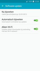 Samsung Galaxy S6 Edge - software - update installeren zonder pc - stap 6