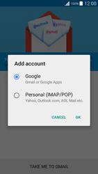 Samsung G530FZ Galaxy Grand Prime - E-mail - Manual configuration (gmail) - Step 7