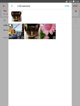 Samsung Galaxy Tab A 9.7 - E-mail - Sending emails - Step 18