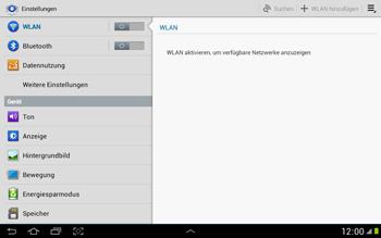 Samsung N8000 Galaxy Note 10-1 - Internet - Manuelle Konfiguration - Schritt 4