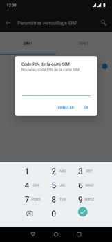 OnePlus 7 Pro - Sécuriser votre mobile - Personnaliser le code PIN de votre carte SIM - Étape 9