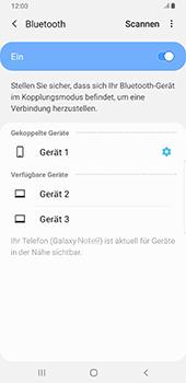 Samsung Galaxy Note9 - Android Pie - Bluetooth - Verbinden von Geräten - Schritt 9