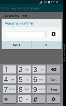 Samsung Galaxy Note Edge - voicemail - handmatig instellen - stap 10