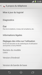 Sony Xperia Z1 - Logiciels - Installation de mises à jour - Étape 6