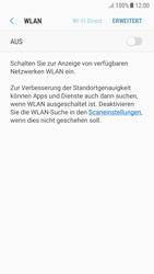 Samsung Galaxy A5 (2017) - Android Nougat - WiFi - WiFi-Konfiguration - Schritt 6