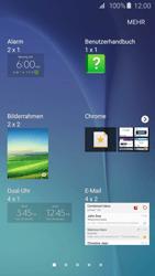 Samsung Galaxy S6 Edge - Startanleitung - Installieren von Widgets und Apps auf der Startseite - Schritt 5