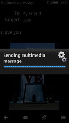 Nokia 700 - MMS - Sending pictures - Step 15