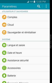 Samsung Galaxy Note Edge - Téléphone mobile - Réinitialisation de la configuration d