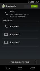 Acer Liquid E600 - Bluetooth - jumelage d