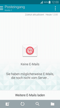 Samsung Galaxy Note 4 - E-Mail - Manuelle Konfiguration - Schritt 19